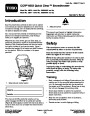 Toro CCR 6053 Quick Clear 38576 38577 Snow Blower Operators Manual, 2008 page 1