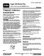 Toro 51552 Super 325 Blower/Vac Operators Manual, 2006 – Finnish page 1