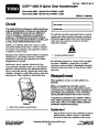 Toro CCR 6053 R Quick Clear 38567 38569 Snow Blower Operators Manual, 2011 – Czech page 1