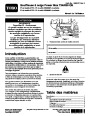 Toro 37775 Power Max 724 OE Snowblower Setup Instructions, 2015 – French page 1