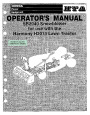 Honda SB2040 Snow Blower Owners Manual page 1
