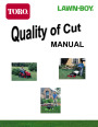 Toro Lawn-Boy Quality of Cut Manual, 2002 page 1