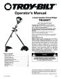 MTD Troy-Bilt TB525ET Trimmer Lawn Mower Owners Manual page 1