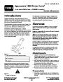 Toro 38026 1800 Power Curve Snowblower Operators Manual, 2007-2009 – Italian page 1
