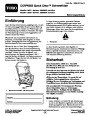 Toro CCR 6053 Quick Clear 38571 38575 Snow Blower Operators Manual, 2008 – German page 1