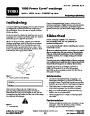 Toro 38026 1800 Power Curve Snowblower Operators Manual, 2007-2009 – Danish page 1