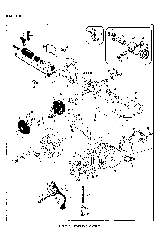 diagram for electric weed trimmer