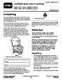 Toro CCR 6053 Quick Clear 38571 38575 Snow Blower Operators Manual, 2008 – Norwegian page 1
