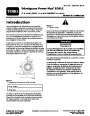 Toro Power Max 828LE 38622 Snow Blower Operators Manual, 2006 – French page 1