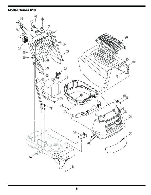 Mtd Parts Catalog : Mtd hydrostatic lawn tractor mower parts list