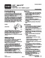 Toro CCR 3650 GTS 38538 Snow Blower Operators Manual, 2004 – Norwegian page 1