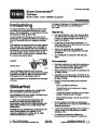 Toro Snow Commander 38603 Snow Blower Operators Manual, 2005 – Norwegian page 1