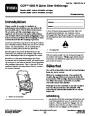 Toro CCR 6053 R Quick Clear 38567 38569 Snow Blower Operators Manual, 2011 – Swedish page 1