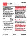 Toro 20049 22-Inch Recycler Lawn Mower Operators Manual, 2005 – Spanish page 1