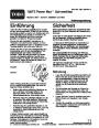 Toro Power Max 726TE 38611 Snow Blower Operators Manual, 2005 – German page 1