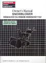 Honda HS624 HS724 HS828 HS928 HS1132 Snow Blower Owners Manual page 1