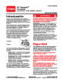 Toro 20013 22-Inch Recycler Lawn Mower Operators Manual, 2006 – Spanish page 1