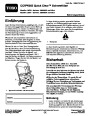Toro CCR 6053 Quick Clear 38576 38577 Snow Blower Operators Manual, 2008 – German page 1