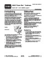 Toro Power Max 726TE 38611 Snow Blower Operators Manual, 2005 – Norwegian page 1