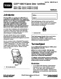 Toro CCR 6053 R Quick Clear 38567 38569 Snow Blower Operators Manual, 2011 – Finnish page 1