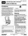 Toro CCR 6053 Quick Clear 38571 38575 Snow Blower Operators Manual, 2008 – Swedish page 1