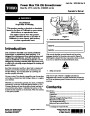 Toro 37770 Power Max 724 OE Snowblower Manual, 2013 page 1