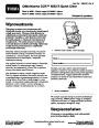 Toro CCR 6053 R Quick Clear 38567 38569 Snow Blower Operators Manual, 2011 – Polish page 1