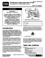 Toro 37770 Power Max 724 OE Snowblower Setup Instructions, 2014 – French page 1