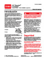 Toro 20031 22-Inch Recycler Lawn Mower Operators Manual, 2004 – Spanish page 1