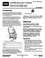 Toro CCR 6053 Quick Clear 38576 38577 Snow Blower Operators Manual, 2008 – Norwegian page 1