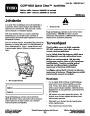 Toro CCR 6053 Quick Clear 38576 38577 Snow Blower Operators Manual, 2008 – Finnish page 1