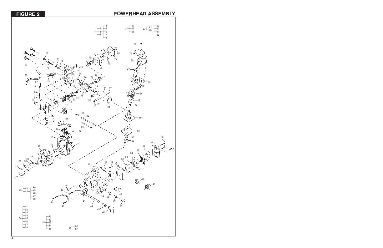 mcculloch mac 3214 chainsaw manual