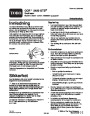 Toro CCR 2450 GTS 38536 Snow Blower Operators Manual, 2004 – Norwegian page 1