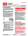 Toro 20003 22-Inch Recycler Lawn Mower Operators Manual, 2005 – Spanish page 1
