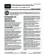 Toro Power Shovel Plus 38360 Electric Snow Blower Operators Manual, 2005 – French page 1