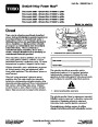 Toro Power Max 826O 38597 38629 38637 38639 38657 Snow Blower Operators Manual, 2011 – Slovak page 1