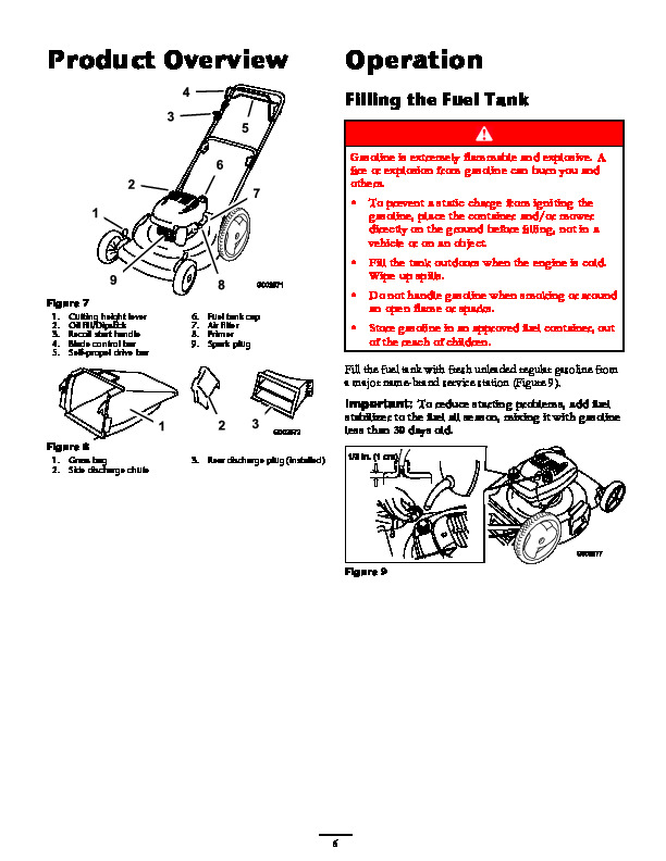 Toro 20012 22 Inch Recycler Lawn Mower Operators Manual