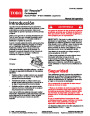 Toro 20051 22-Inch Recycler Lawn Mower Operators Manual, 2004 – Spanish page 1
