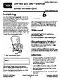 Toro CCR 6053 Quick Clear 38571 38575 Snow Blower Operators Manual, 2008 – Danish page 1