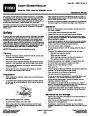 Toro 51593 Super Blower/Vacuum Manual, 2010-2014 page 1