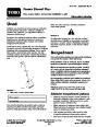 Toro Power Shovel Plus 38365 Snow Blower Operators Manual, 2006 – Slovak page 1