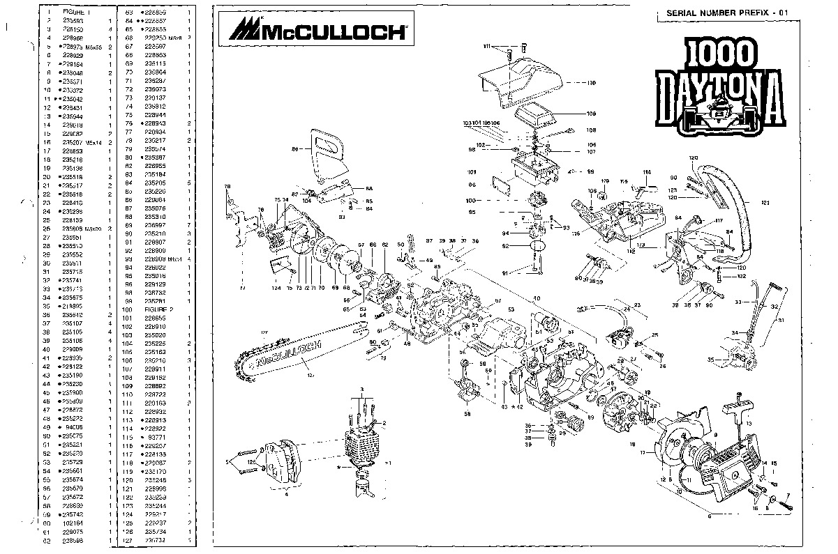 how to start a mcculloch pro mac 610 chain saw
