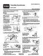 Toro Power Max 828LE 38622 Snow Blower Setup Instructions, 2006 – French page 1
