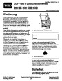 Toro CCR 6053 R Quick Clear 38567 38569 Snow Blower Operators Manual, 2011 – German page 1