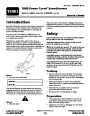 Toro 38026 1800 Power Curve Snowblower Operators Manual, 2007-2009 – Dutch page 1
