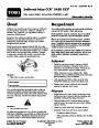 Toro CCR 2450 GTS 38535 Snow Blower Operators Manual, 2007 – Czech page 1