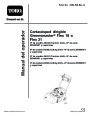 Toro 04030 04206 04031 04202 Greensmaster Flex 18 Flex 21 Lawn Mower Operators Manual, 2008 – Spanish page 1