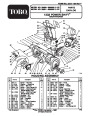 Toro Power Shift 38590 38591 1232 Snow Blower Parts Manual page 1