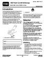 Toro 38026 1800 Power Curve Snowblower Operators Manual, 2007-2009 – Swedish page 1