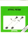 STIHL FS 65 Trimmer Owners Manual page 1